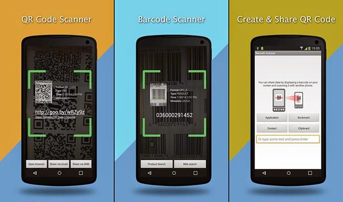 cara membuat aplikasi scan barcode di android