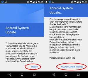 Update Android Marshmallow