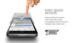 Fitur Gesture Smart Access