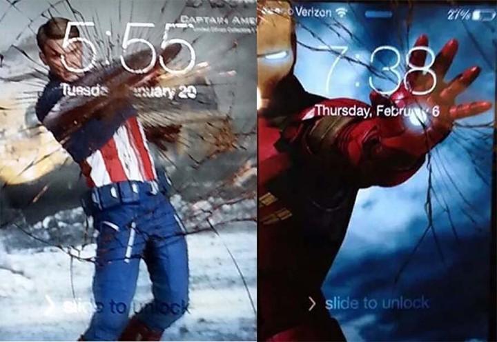 ide wallpaper kreatif layar smartphone retak picture 1